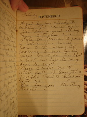 Saturday September 17, 1921