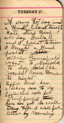 Tuesday, August 17, 1920
